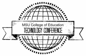 MSU College of Education Technology Conference logo